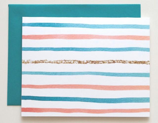 Social Proper Glitter Stripe