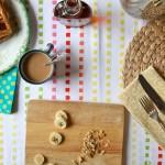 Banana Walnut Waffles by Joy the Baker