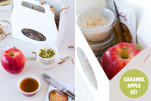 DIY Caramel Apple Kit