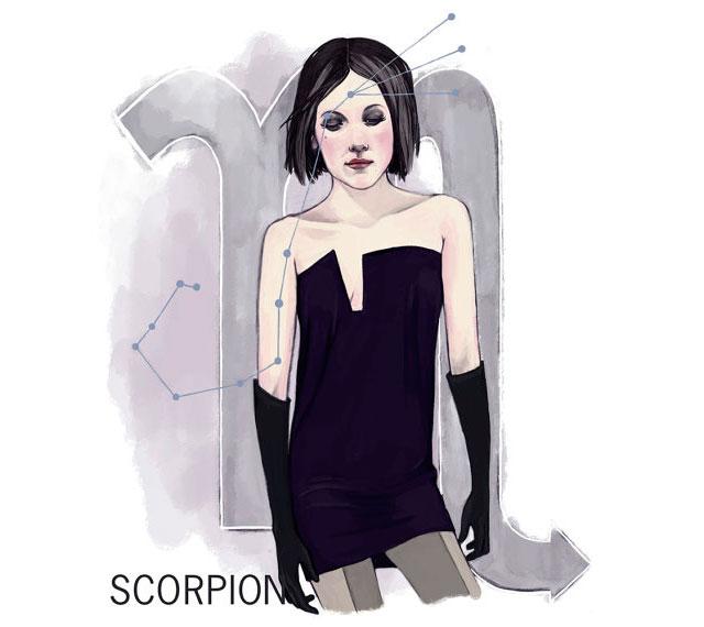 ScorpioZociacPrint