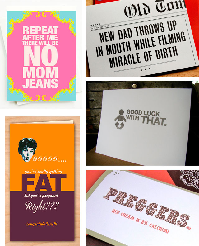 Funny Baby Cards
