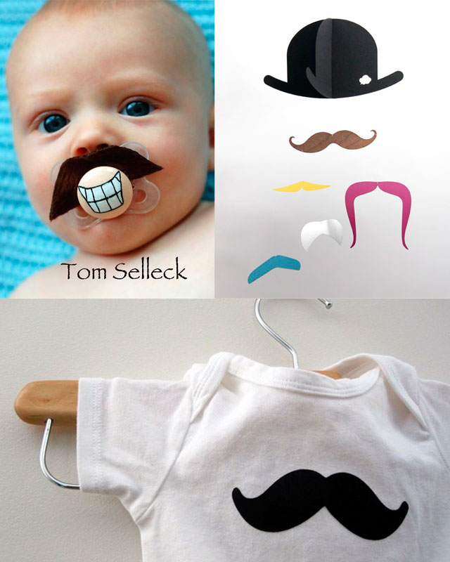 mustache gifts for baby