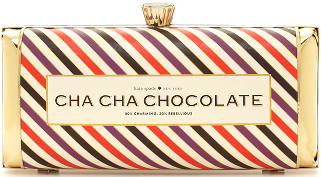 Cha Cha Chocolate Clutch by Kate Spade
