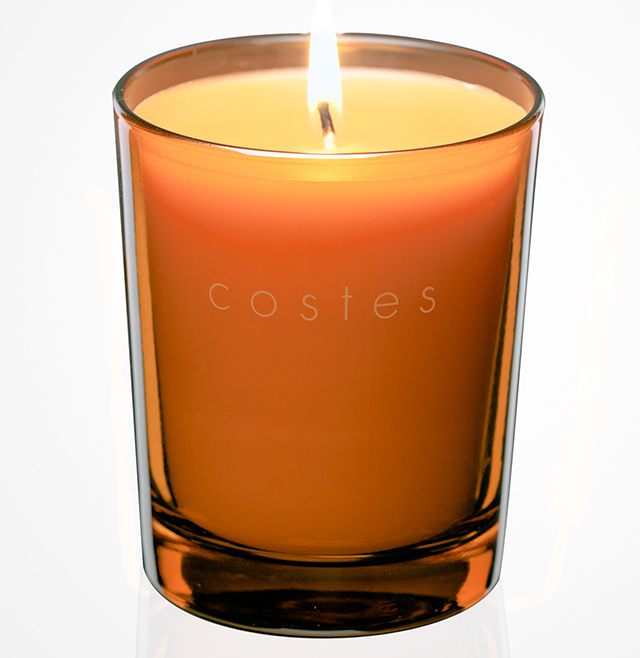 Costes Orange Candle