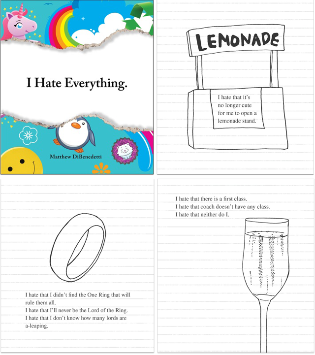 The I Hate Everything Book