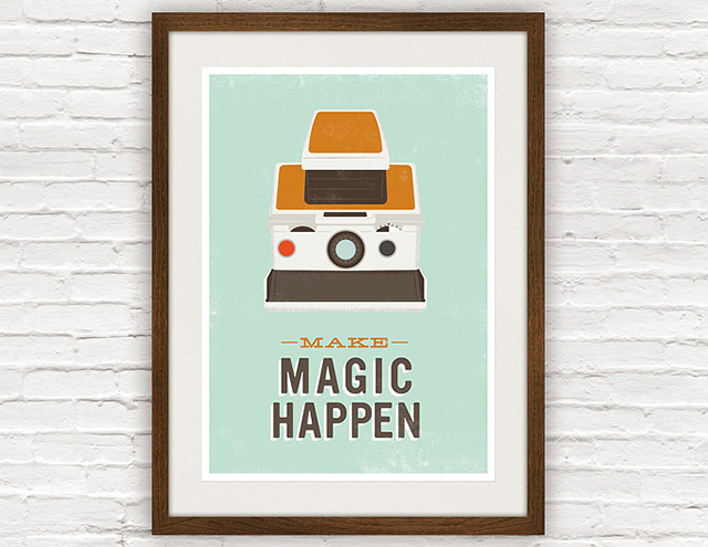 Make Magic Happen print by Jan Skácelík