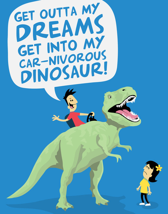 Car-Nivorous-DinosaurPrint