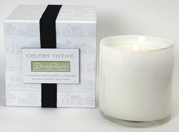 Celery and Thyme Dining Room Candle