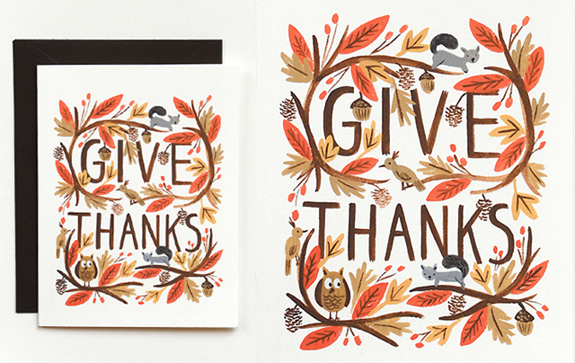Thankful Forest by Rifle Paper Co.
