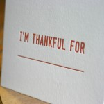I'm Thankful For... by Cotton Flower Press