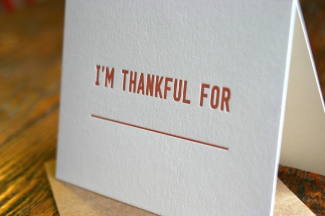 I'm Thankful For by Cotton Flower Press