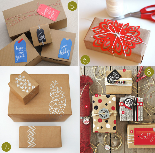 12 Pretty Packages to Inspire Your Holiday Gift-Wrapping!