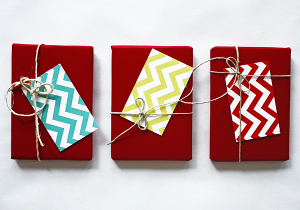 Chevron Gift Tags by Mr. Boddington's