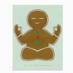 Om for the Holidays card by Dear Hancock