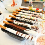 Hot wot make Dipped Pretzels