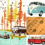 VW Van Gifts for Hippies