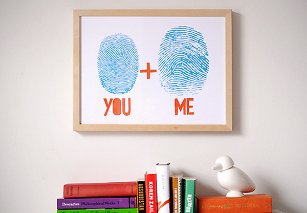 ManMadeDIY : How To: Make Custom Art from Your Own Fingerprints