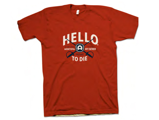 Hello! Princess Bride T-Shirt by Alamo Drafthouse