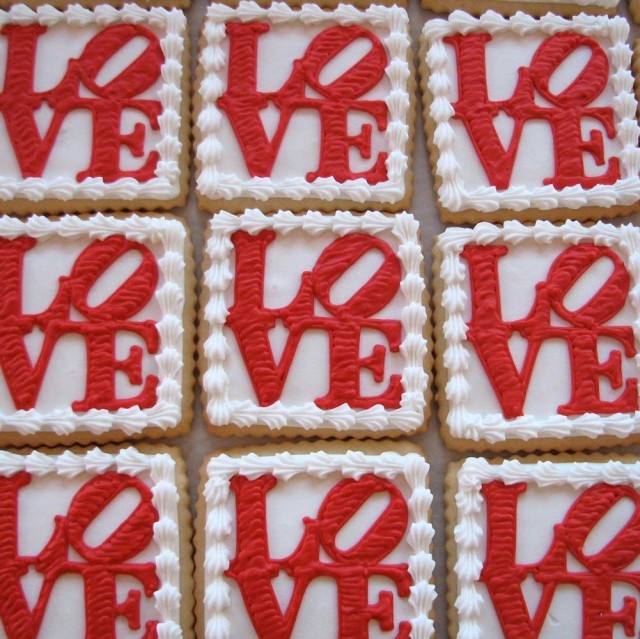 Red Love Cookies by Whipped Bakeshop