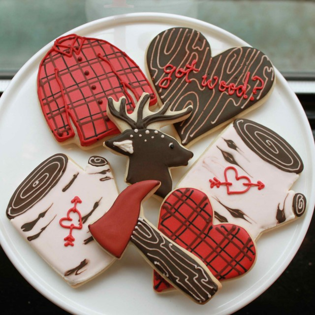 Woodsy Woodsman Cookies by Whipped Bakeshop