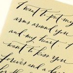 Love Letter Transcription by Paperfinger