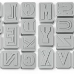 Letterpressed Cookie Cutters set