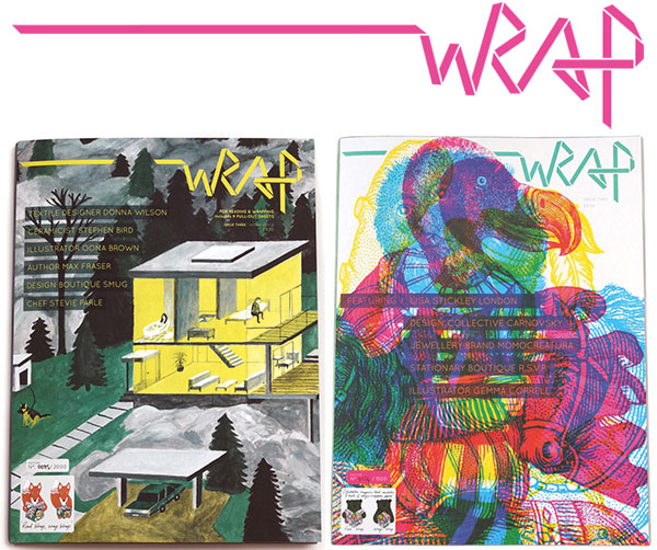 Wrap Magazine - Covers