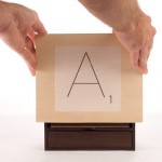 Scrabble Typography Edition box