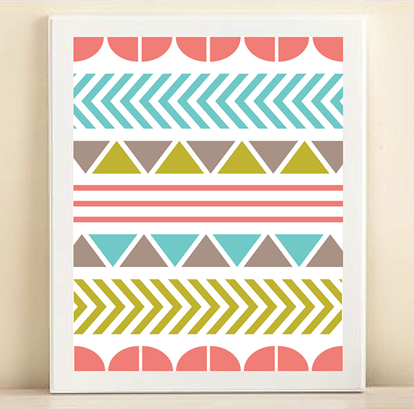 Tribal Print by Amanda Helmer