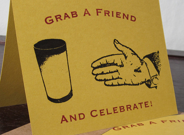 Grab A Friend Card by Two Guitars