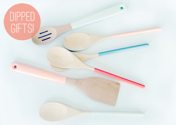 Dipped Wooden Utensils by House of Earnest