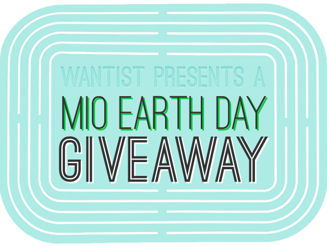 MIO Earth Day Giveaway