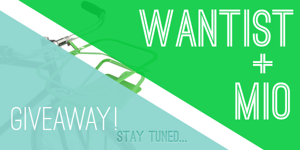 Wantist and MIO Giveaway coming soon...