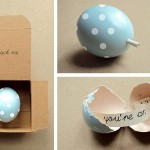 Easter Message Egg by Present&Correct and Poppytalk