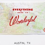 Wonderful Silk Screened Maps by Best Made Company - Austin