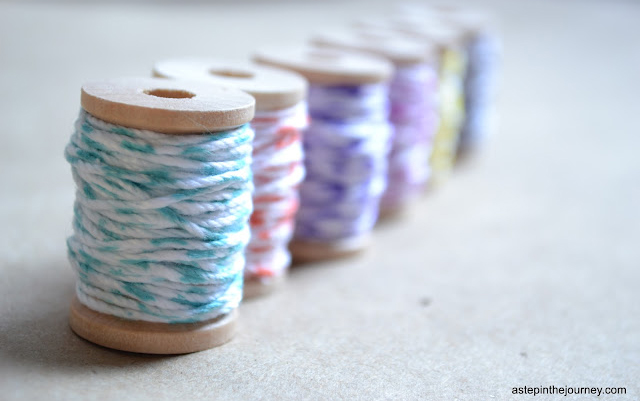 DIY Baker&#039;s Twine by A Step in the Journey