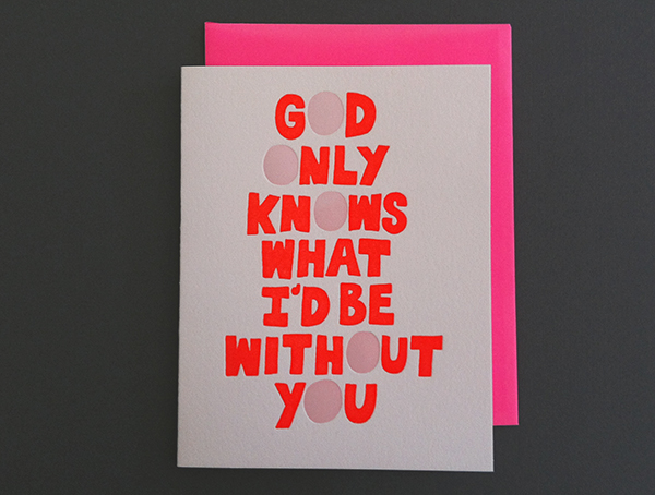 God Only Knows card by Ashkahn