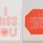 Neon + Love cards by Ashkahn