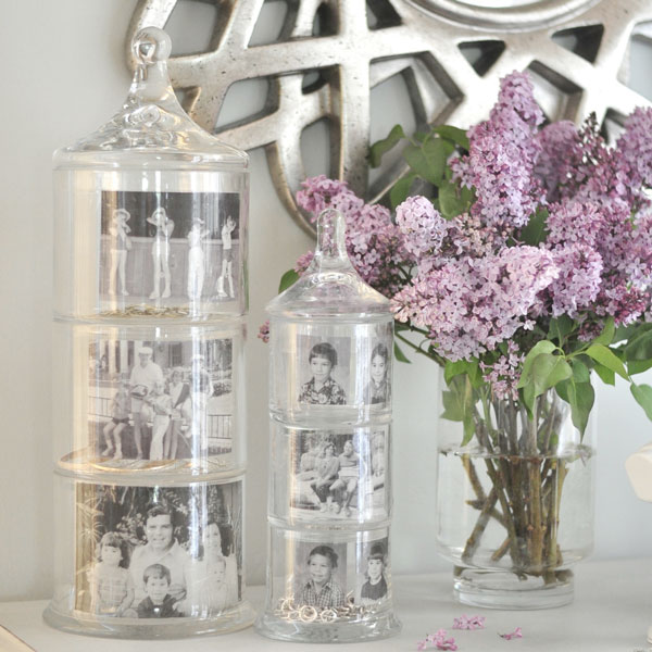 Mother's Day Memory Jars by Kate Riley of Centsational Girl