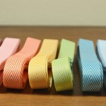 Chevron Twill Ribbon from Paper and Present