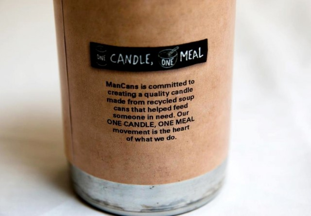 ManCans One Candle, One Meal