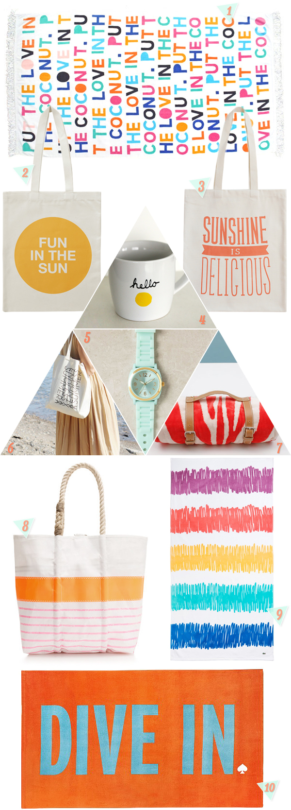 Hello Sunshine! 10 Fun In The Sun Gifts for Summer