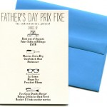 Father's Day Prix Fixe by Mr.s Boddington's Studio