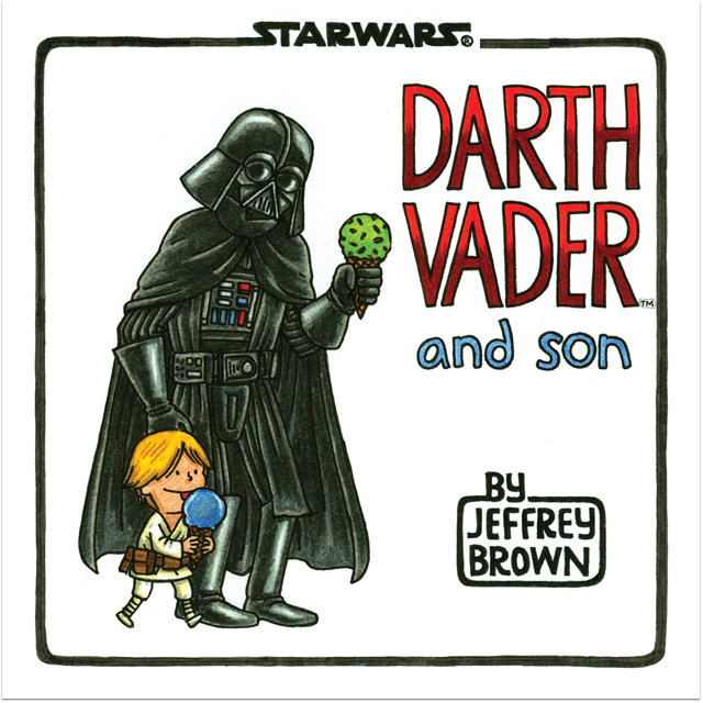 Darth Vader and Son - book cover