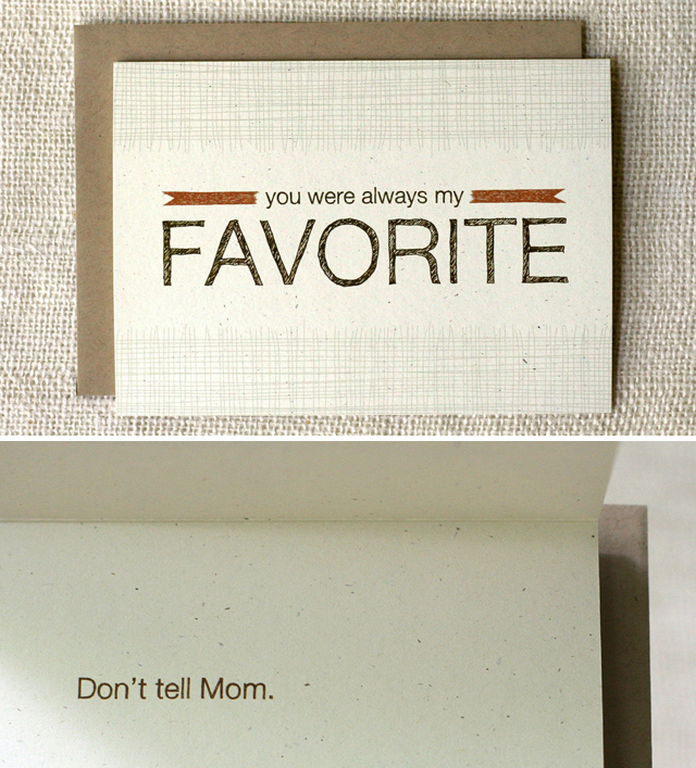 Favorite Father's Day card by Wit & Whistle
