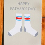 Father's Day Socks by Gold Teeth Brooklyn