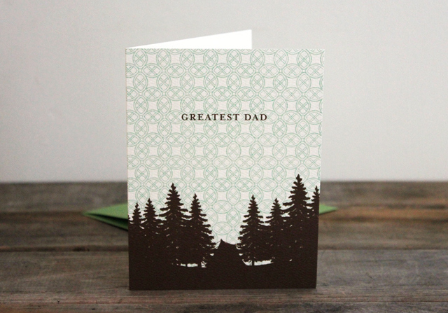 Camping with Dad by Kate & Birdie Paper Co.