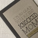 Knocked Up Father's Day card by Wit & Whistle