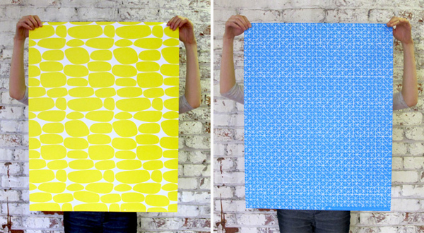 Bold Pattern Wrapping Paper by Egg Press