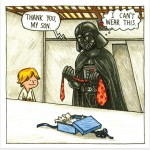 Darth Vader and Son - tie problem